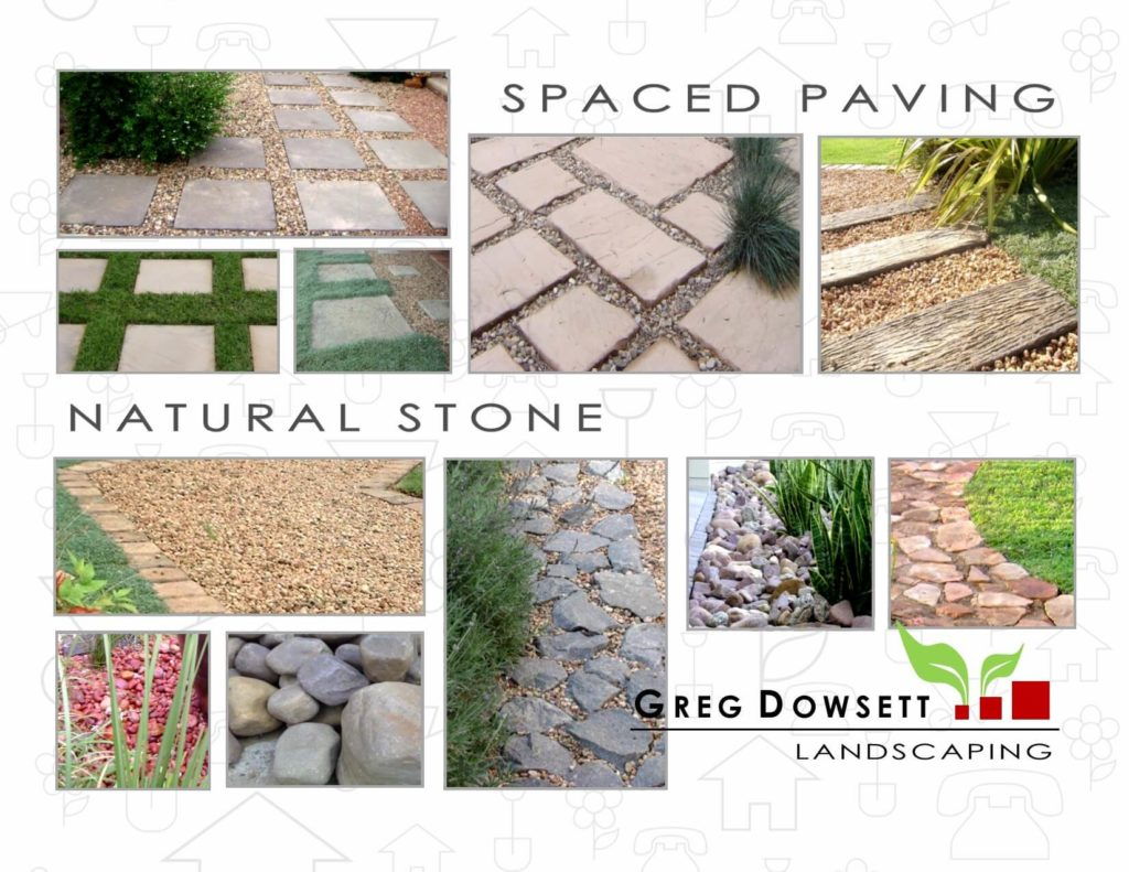 Landscaping Pietermaritzburg, Landscaping Hillcrest, Landscaping Upper Highway, Landscaping midlands, Greg Dowsett, Gardens, Spaced paving, Rocks, Handstone, River boulders, Railway sleepers, Gravel garden.