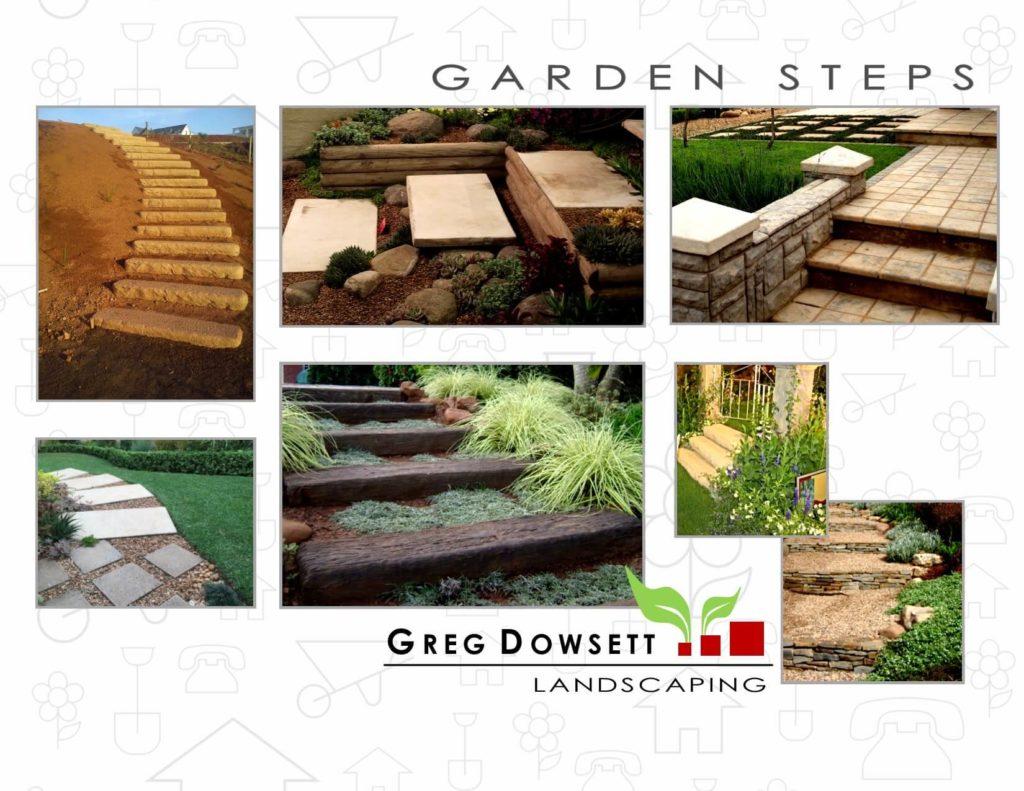 Landscaping Pietermaritzburg, Landscaping Hillcrest, Landscaping Upper Highway, Landscaping midlands, Greg Dowsett, Gardens, Paving, Sandstone steps, Railway sleepers, Hedges, Garlington Estate.